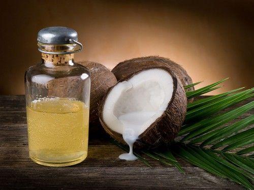 alimentação óleo de coco
