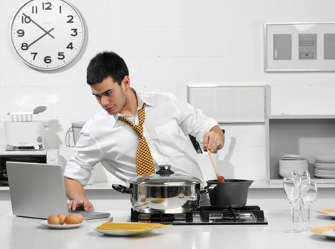 Dicas para economizar tempo na cozinha