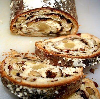 Pão doce alemão Stolen: alternativa saborosa para o Natal