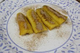 Banana cozida no microondas
