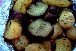 Batata doce ao forno