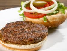 Hambúrguer assado
