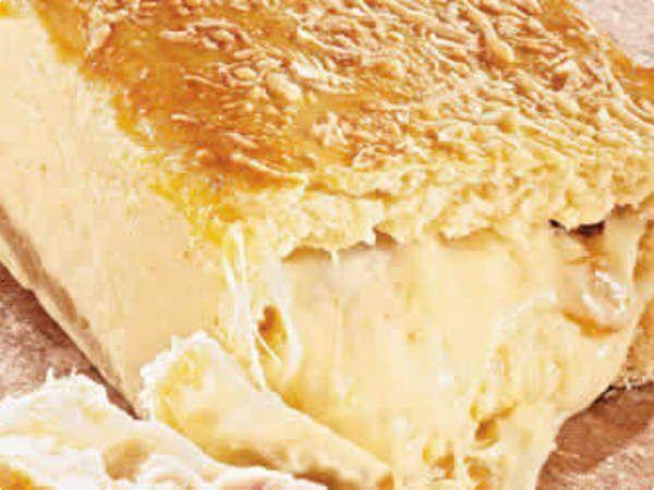 Cuca rápida de queijo