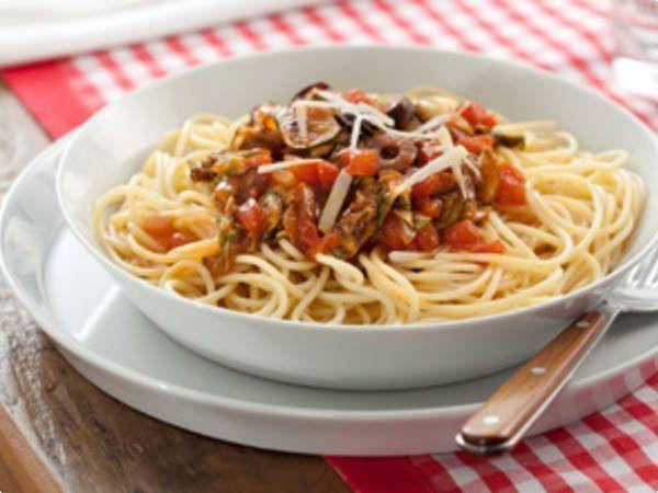 Espaguete à Siciliana