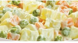 Salada de Maionese com Batata Cremosa