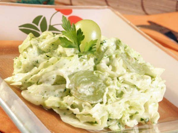 Salada verde de Microondas