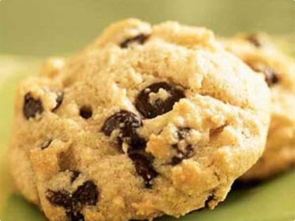 Cookie de chocolate e maçã