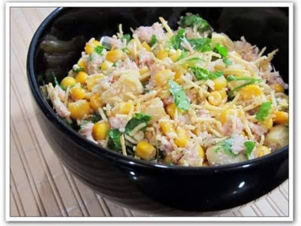 Salada especial de atum