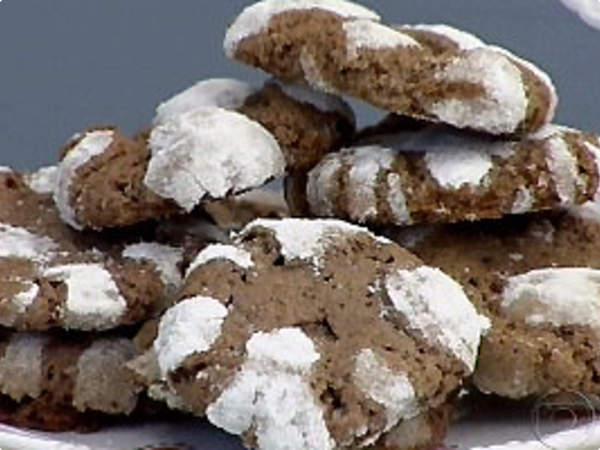 Biscoito de chocolate com baunilha