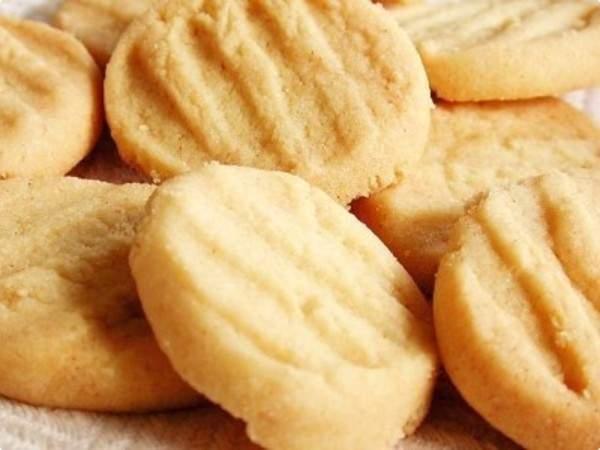Biscoito simples de manteiga