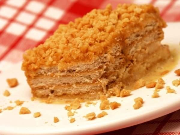 Torta delícia de amendoim