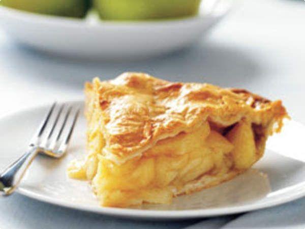 Torta prática de maçã