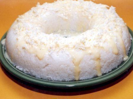 Manjar de Tapioca com Coco