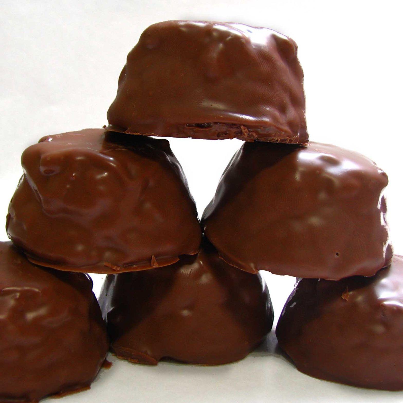 Pão de Mel com Cobertura de Chocolate
