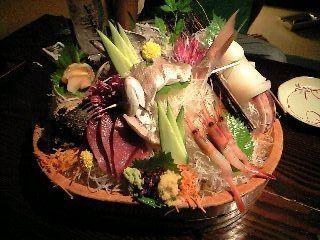 Sashimi de Japa