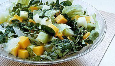 Salada com Molho de Laranja