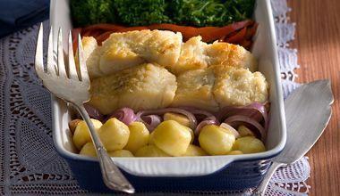 Bacalhau especial Bomzão