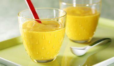 Creminho de Frutas com leite condensado