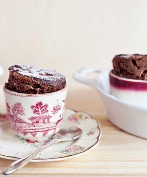 Musse Suflê de Chocolate