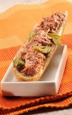 Sandwich aux rilletes