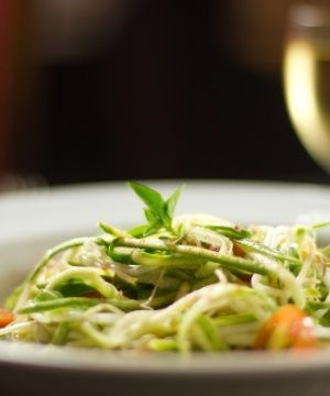 Spaghetti de Zucchini