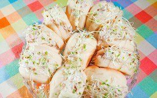 Beirutinho de rosbife com molho de wasabi