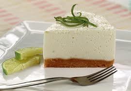 Cheesecake de limão diet