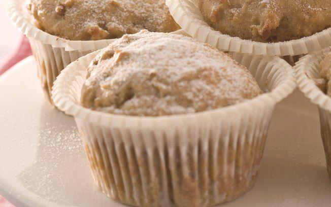 Muffins de maçã com canela