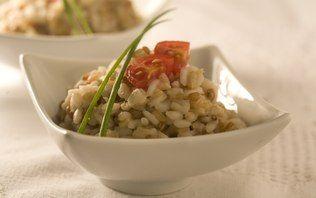 Risoto de grãos light (aveia, cevada e trigo)