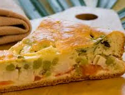 Torta especial de palmito