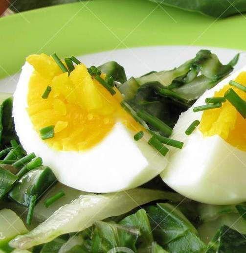 Acelga com ovos