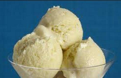 Cobertura de caju para sorvete
