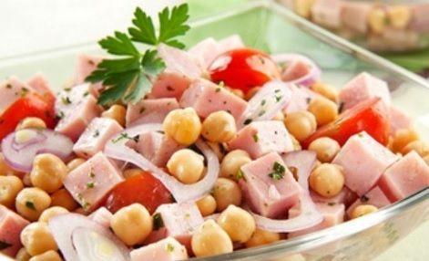 Salada Grão de Bico