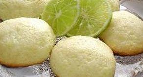 Biscoito amanteigado de limão