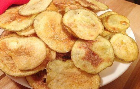 Batata Chips de Micro-ondas