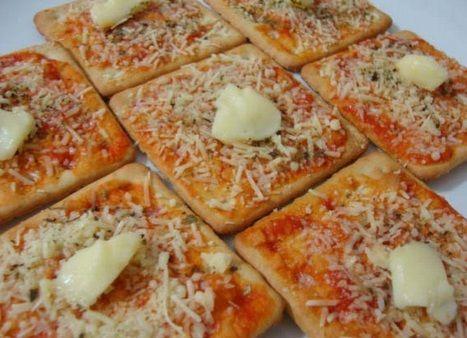 Pizza de Bolacha