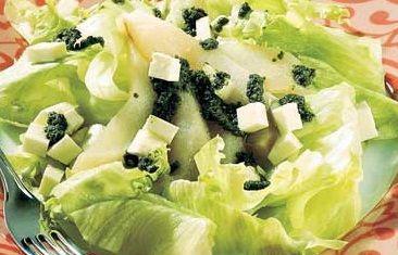 Salada de Alface com Pera