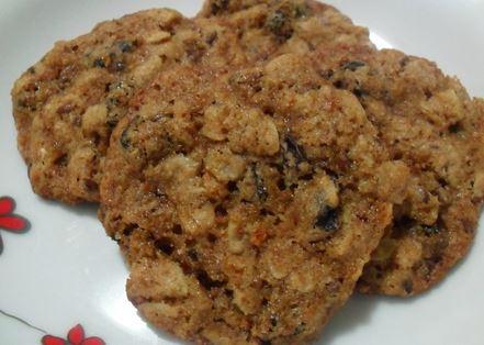 Cookies Integrais com Canela