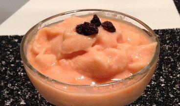 Frozen Iogurte de Mamão
