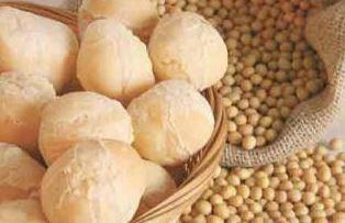 Pão de Queijo com Soja