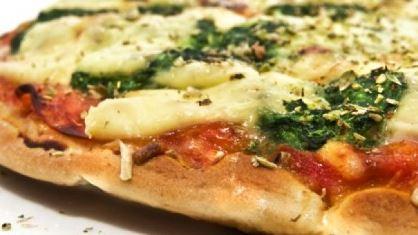 Pizza com Massa de Inhame