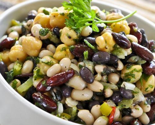 Salada de Feijão-fradinho com Atum