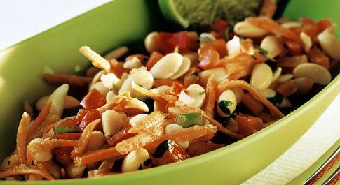Salada de Soja com Pimentão