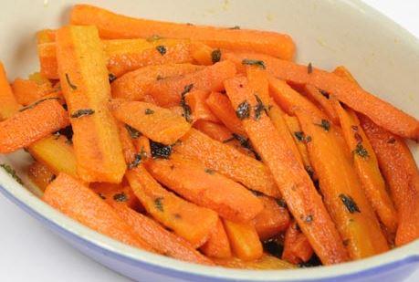Cenoura Caramelizada
