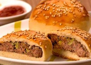 Esfiha de hamburguer