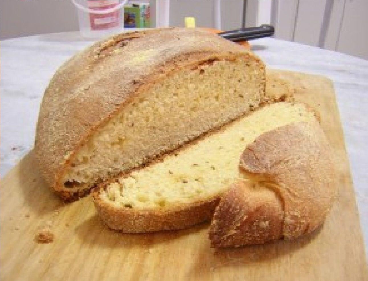 Pão Caseiro de Milho