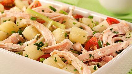 Salada de Frango e Abacaxi Afrodisiaco