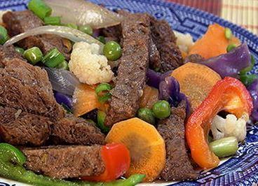 Carne de Soja Oriental