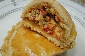Pastel de Forno com Tomate Seco e Polenguinho