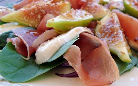 Salada de Figos com Mussarela